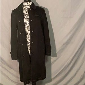 Black Gallery Coat